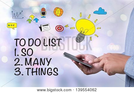 To Do List - So Many Things