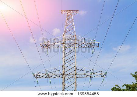 Electric Pole.