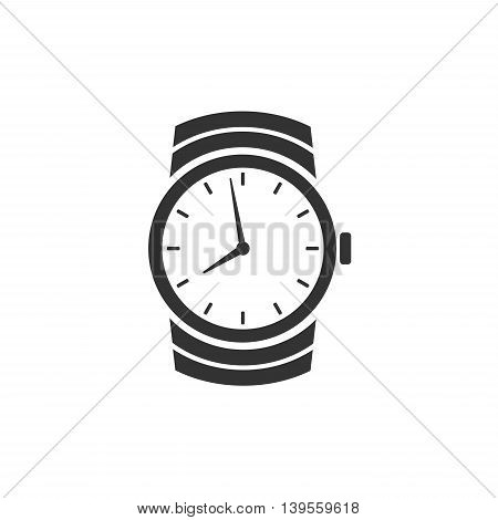 Watch icon symbol isolated on white background