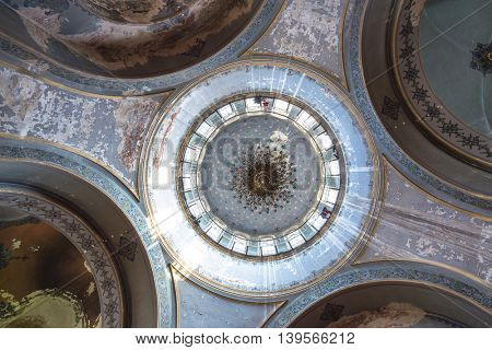 harbin,china: abstract art decoration in harbin sophia cathedral by zhudifeng on May,8,2016