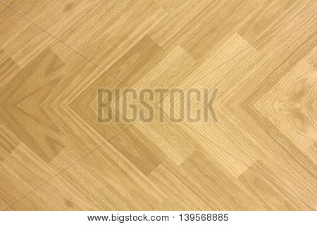 Maple hardwood basketball floor corner pattern when viewed from above.