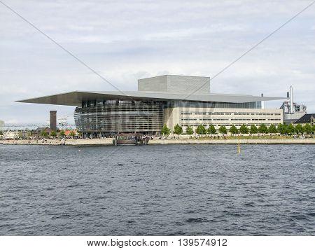 Copenhagen Opera House in Copenhagen the capital city of Denmark