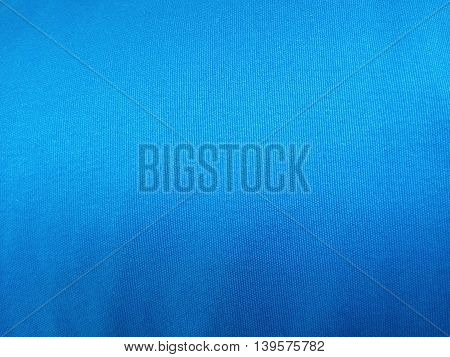 Abstract blue fabric for background design template