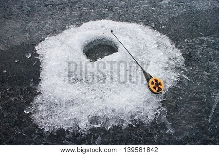 Ice Hole For Fishing