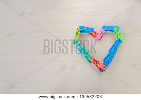 The Clothespin, Heart Love.