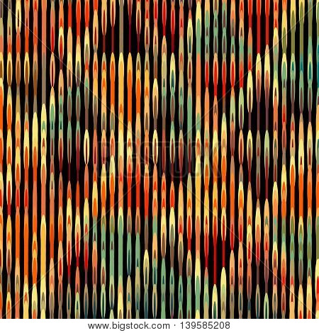 Vector geometric pattern with rhombus shapes and grunge texture. EPS
