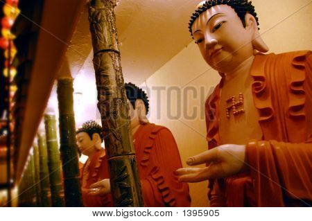Statues Of Buddhas
