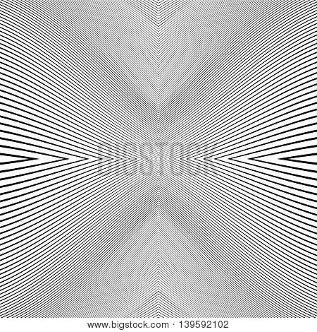 Repeatable Geometric Pattern With Distorted Irregular Dynamic Lines.