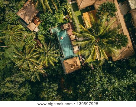 Luxury Resort Surrounded By Trees