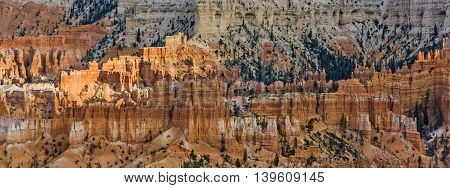 Beautiful Landscape In Bryce Canyon