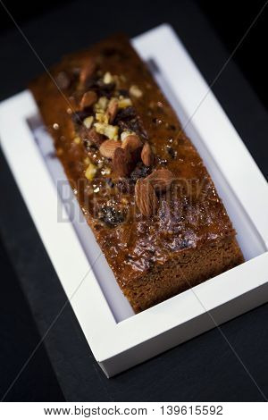 Close Up Of A Cake