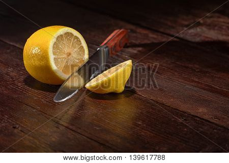 Lemon On The Table