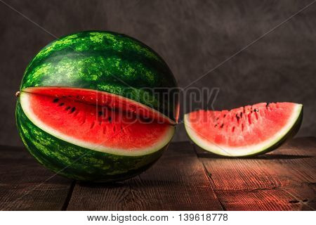 Melon On The Table