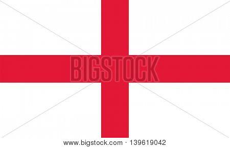 Vector England flag