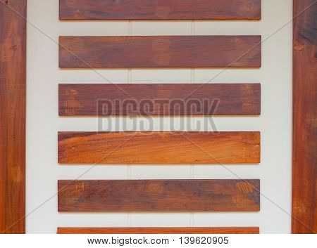 background of concrete and wood wall .