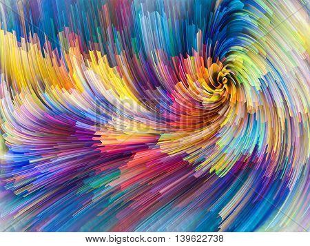 Evolving Color Motion