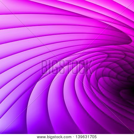 The background is made of lilac gradient waves.
