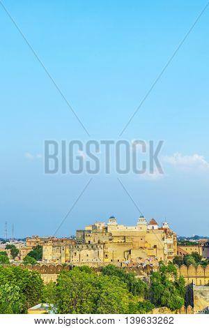 Palace Of The Maharajah Of Bikaner Inside Junagarh Fort, Bikaner, Rajasthan, India