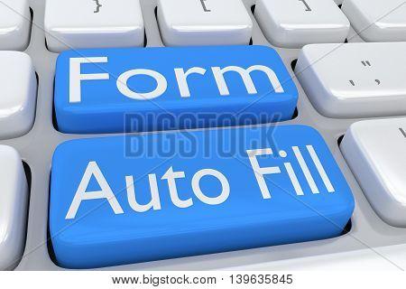 Form Auto Fill Concept