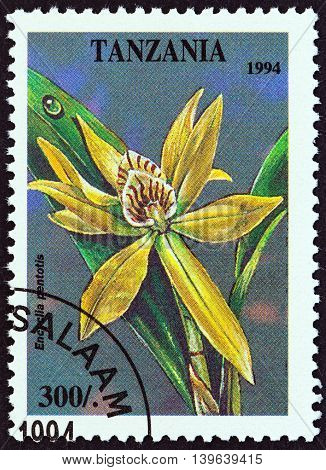 TANZANIA - CIRCA 1994: A stamp printed in Tanzania from the