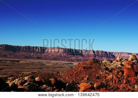 Castle Valley near to the Grand Canyon in the USA