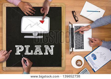 Plan Planning Concept