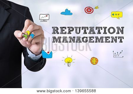 Reputation Management Concept