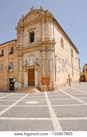 Church of Saint Francesco in Bucchianico (Italy)