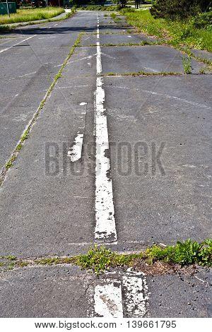 Old Asphalt Road Texture