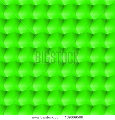 Seamless abstract background. Surround relief in the green colour