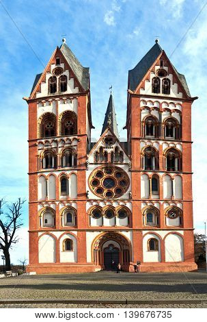 Famous Gothic Dome In Limburg