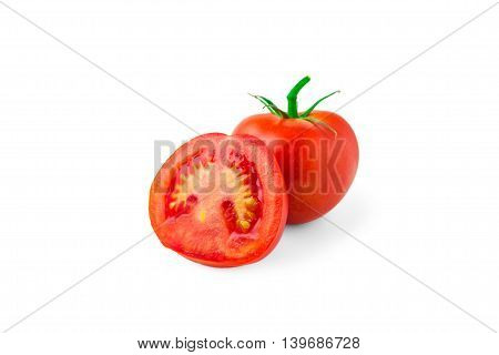 tomatoes isolated on white background, vegetables, health, food, eating,