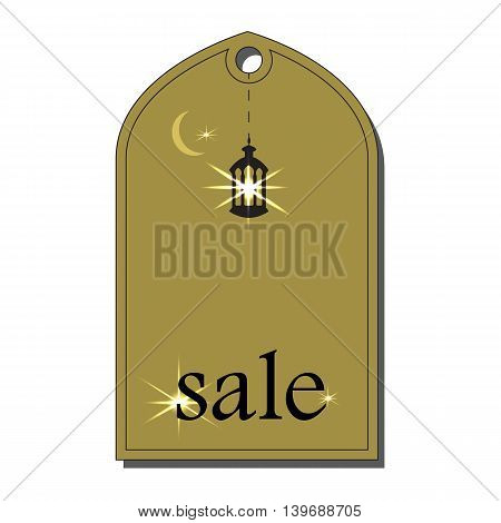 Sale Tags Design .Vector flat illustration .Offer