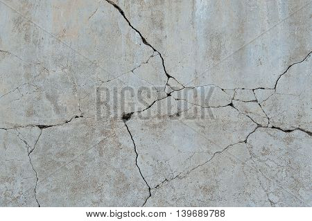 Broken cement building Floor texture and background