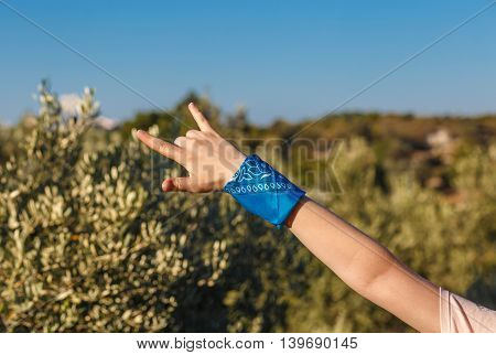 Heavy Metal  And Rock-n-roll Sign Hand