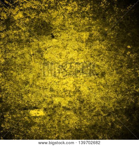 abstract colored scratched grunge background - yellow and brown