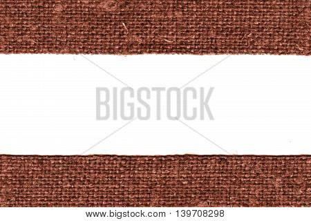 Textile tissue, fabric string, fawn canvas, bag material old-fashioned background