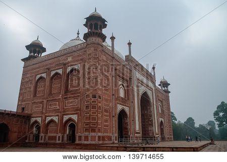 Darwaza-i Rauza Or The Great Gate. Gateway To The Taj Mahal, Agra, India