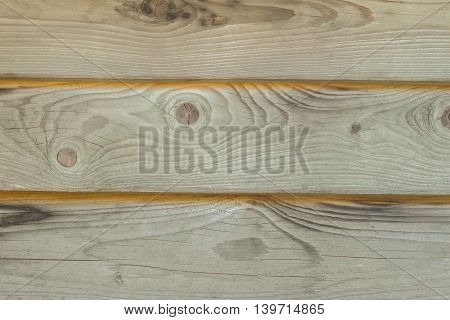 Texture of Old gray wooden fence in the courtyard of an abandoned house. Without painting. Closeup. Idea of a natural background With place for your text and images