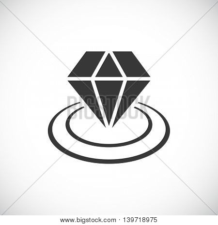 diamond icon in circles