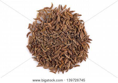 Heap Of Dry Caraway Seeds