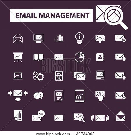 email management icons