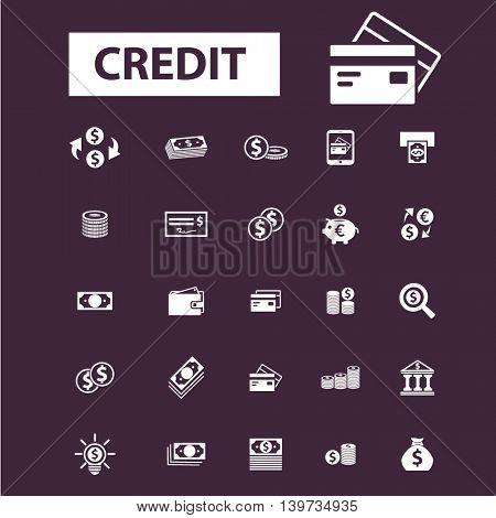 credit icons