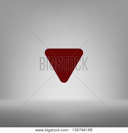 Arrow Down Vector Icon