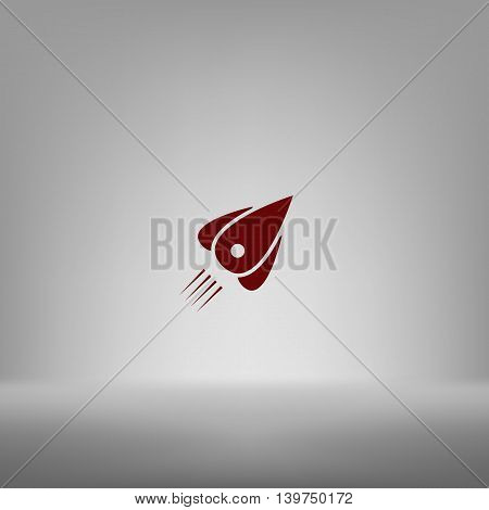 Rocket Icon Stock Vector