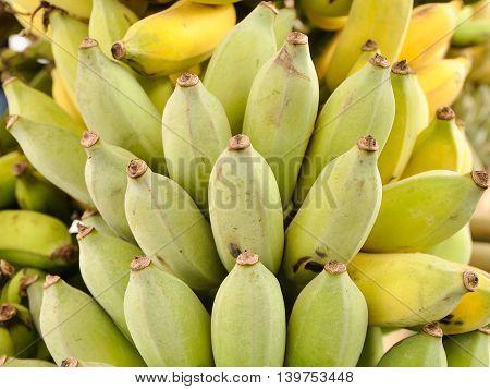Green banana is called Pisang Awak, high nutrient