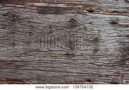 Pattern of old wood texture, For background and texture.