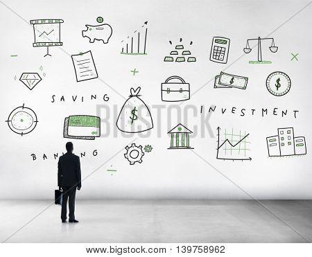 Business Economics Commerce Financial Management Concept