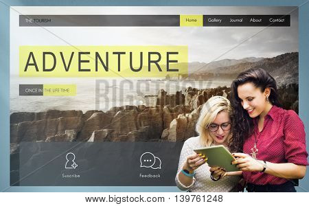 Adventure Exploration Journey Destination Wanderlust Concept