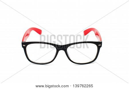 glasses eyesight, eyewear, fashion isolated on white background
